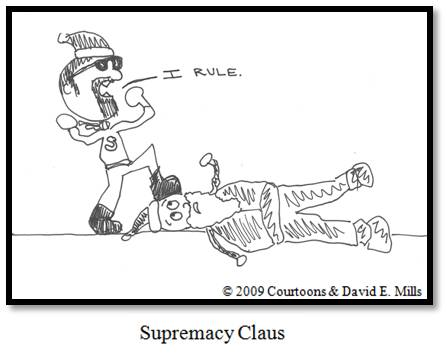 Supremacy Claus Courtoon