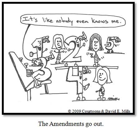 Amendments Courtoon