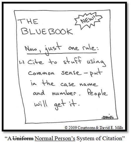 Bluebook Courtoon
