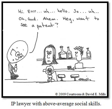IP Lawyer Courtoon