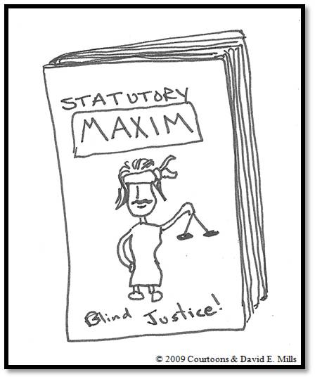 Statutory Maxim Courtoon