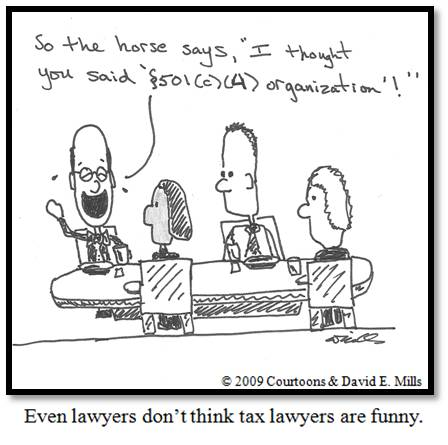 Tax Lawyer Courtoon