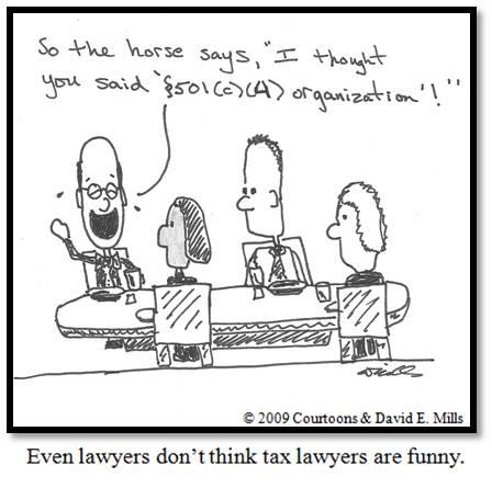 Tax Lawyer Courtoon