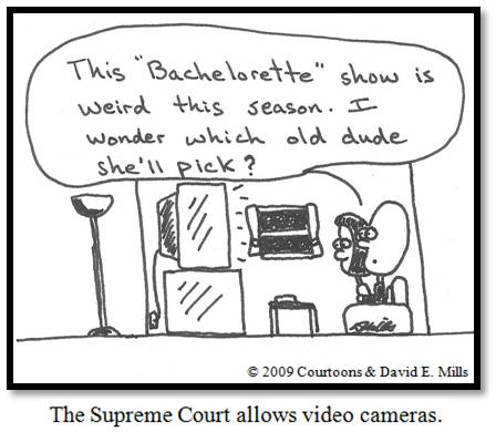 Cameras/Bachelorette Courtoon