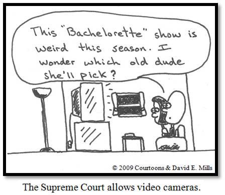 Cameras/Bachelorette Courtoon