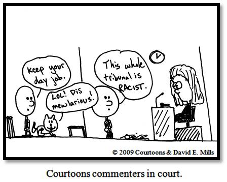 commenters Courtoon