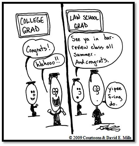 law grad Courtoon