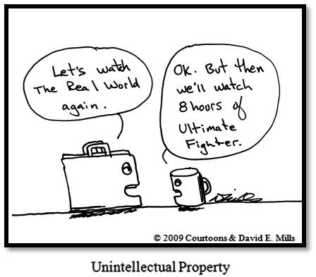 unintellectual-property Courtoon
